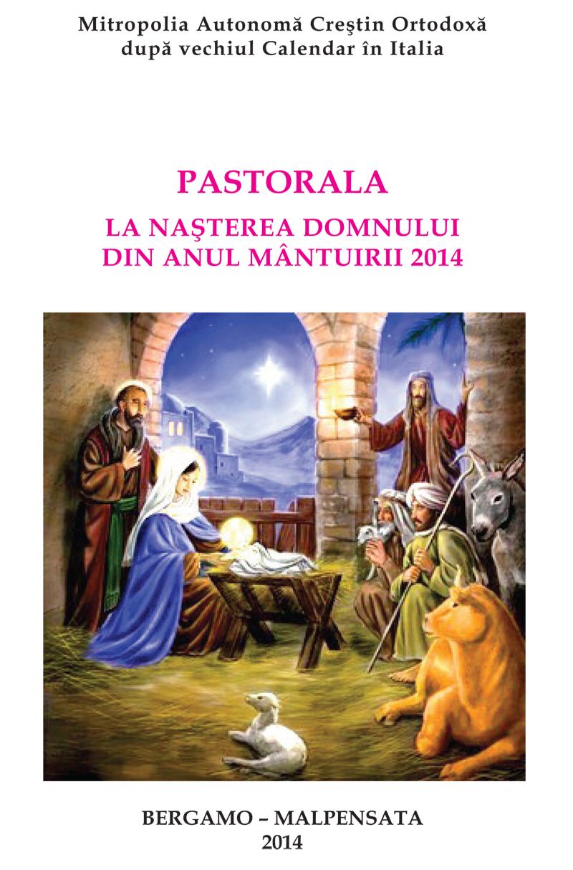 Pastorala Nasterea Domnului 2014-1