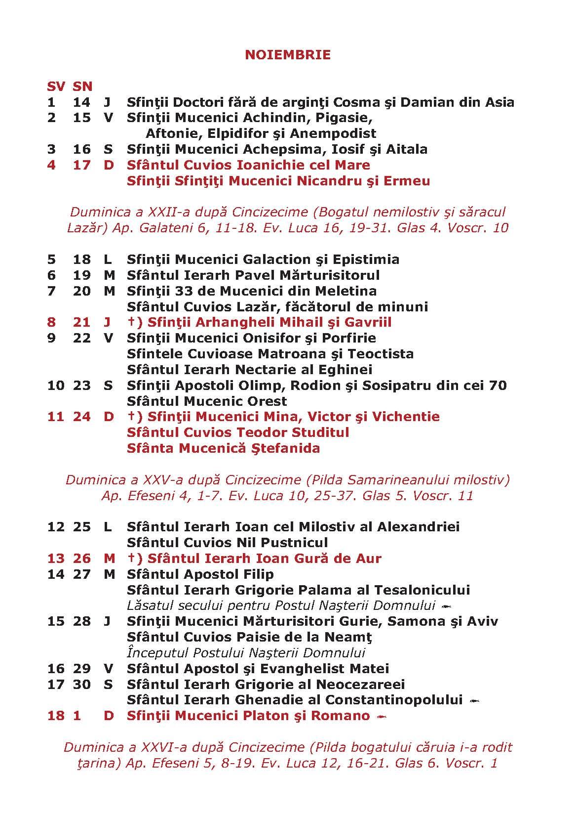 ... , Calendar Crestin Ortodo 2015 Stil Vechi | 2015 Calendar Printable