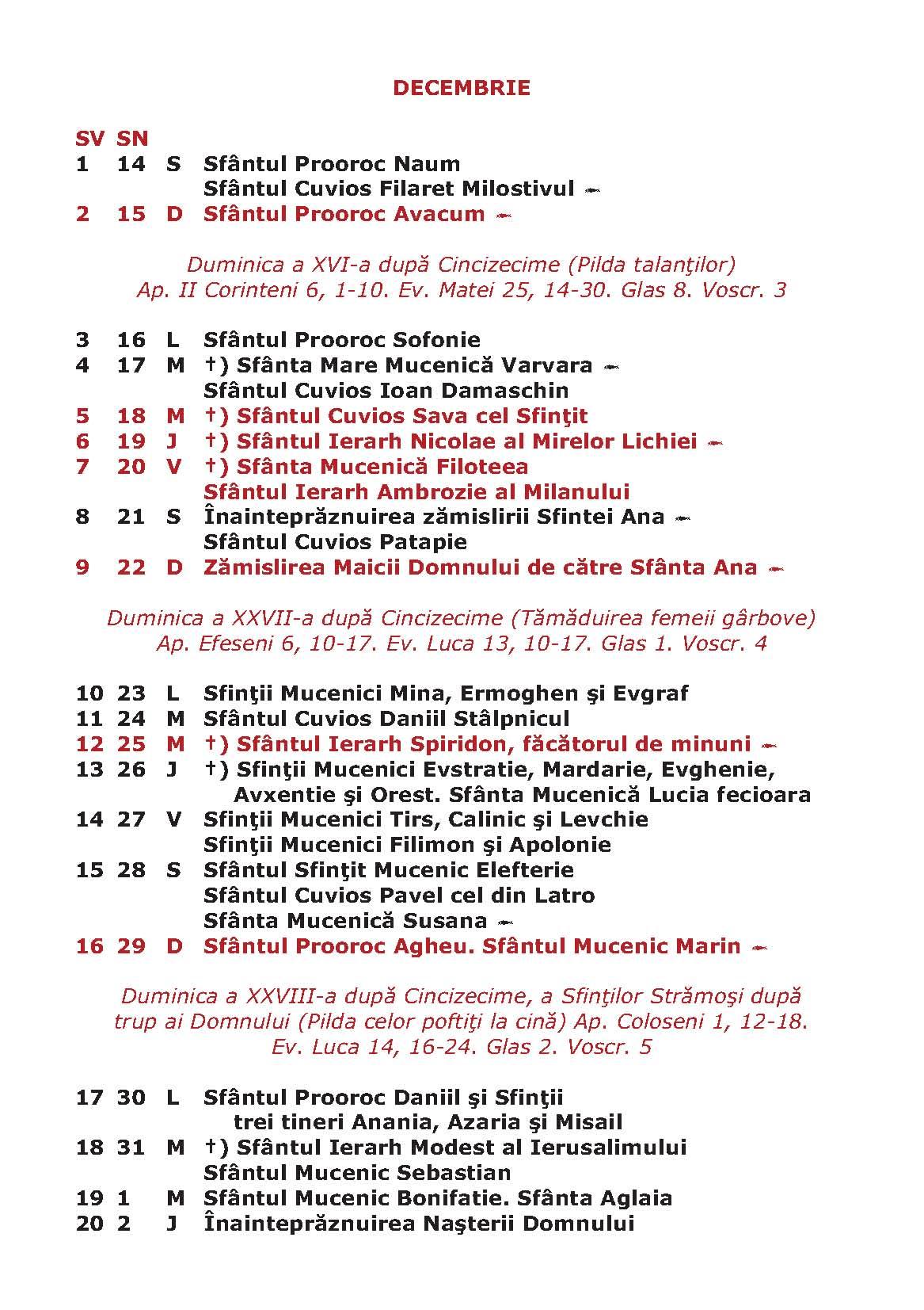 august – 2013 – Mitropolia Crestin Ortodoxa dupa Vechiul Calendar ...