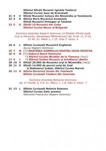 CALENDAR CRESTIN ORTODOX DE STIL VECHI TIPARIT CU BINECUVANTAREA IPS ...