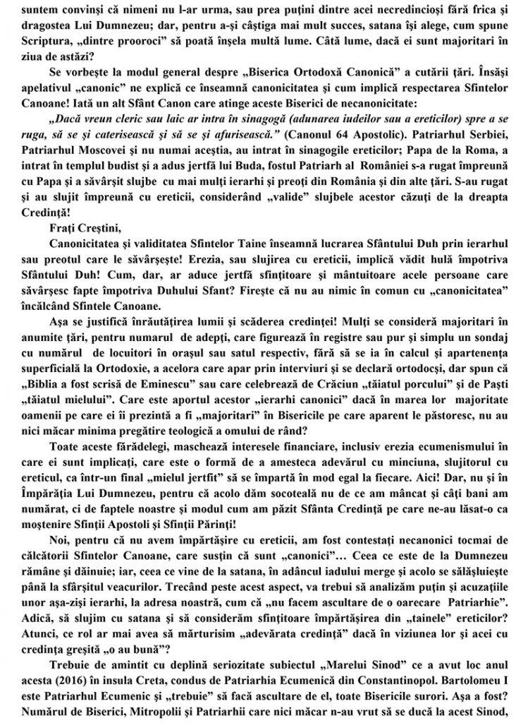 SCRISOARE DESCHISA-2