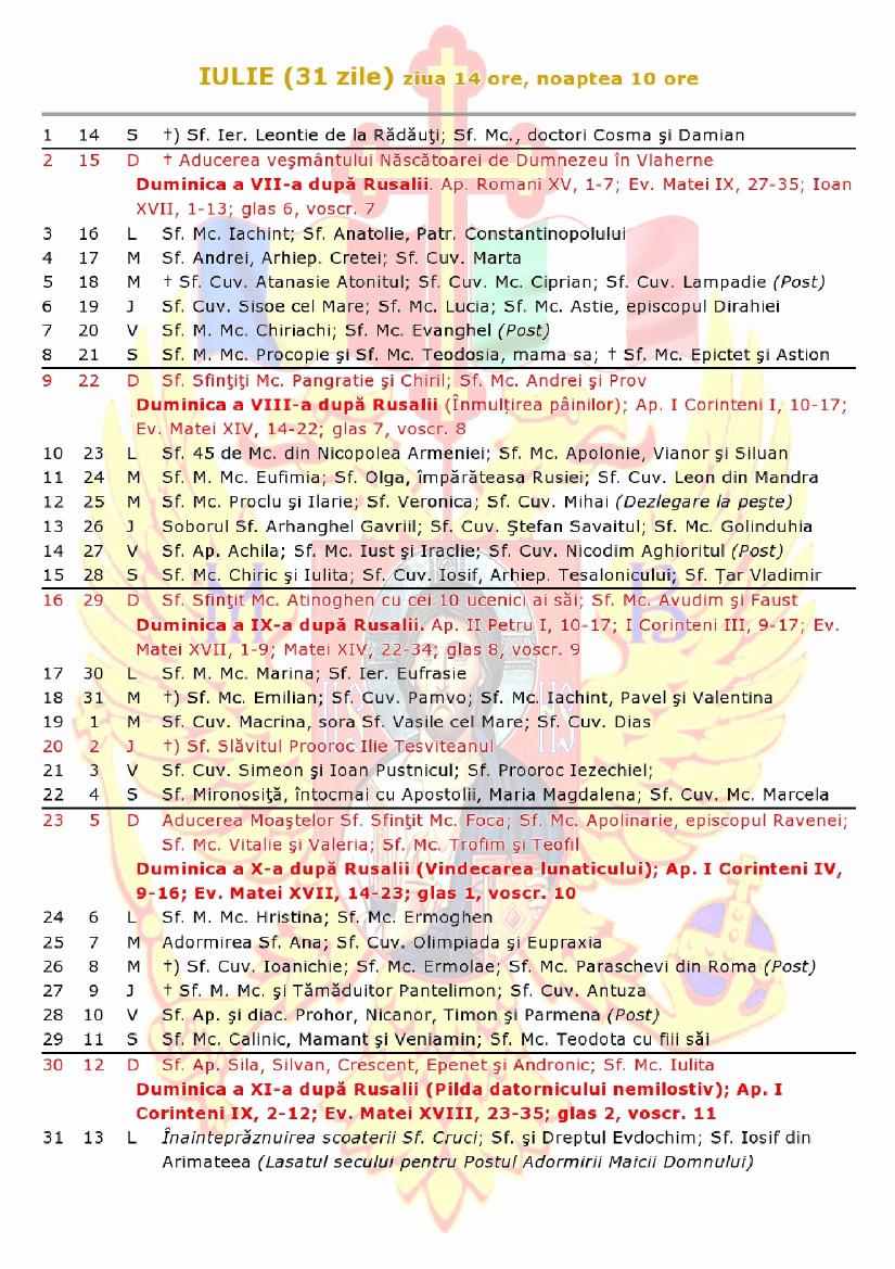 Calendar Crestin Ortodox.Calendar Crestin Ortodox De Stil Vechi 2018 Mitropolia Crestin